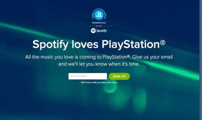 PlayStation Music : Spotify llega a PlayStation