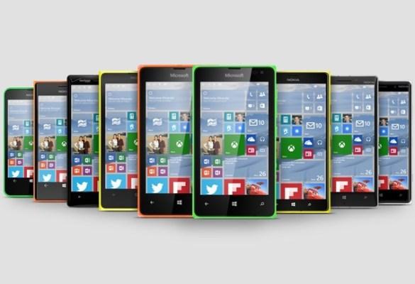 Los dispositivos Lumia 435, 735 y 930 recibirán la actualización de Windows 10