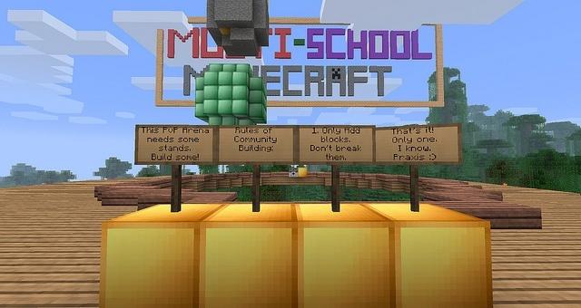 Muchos servidores de Minecraft promueven la creatividad