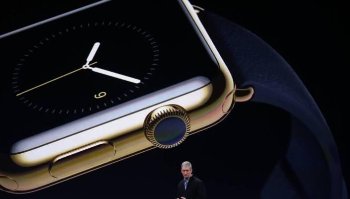 Presentación del nuevo Apple Watch en el evento de la compañía