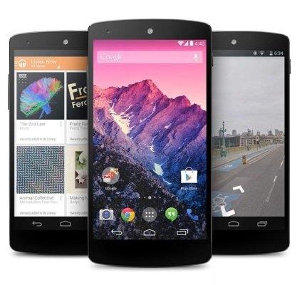 El dispositivo Google Nexus 5 es descontinuado por Google
