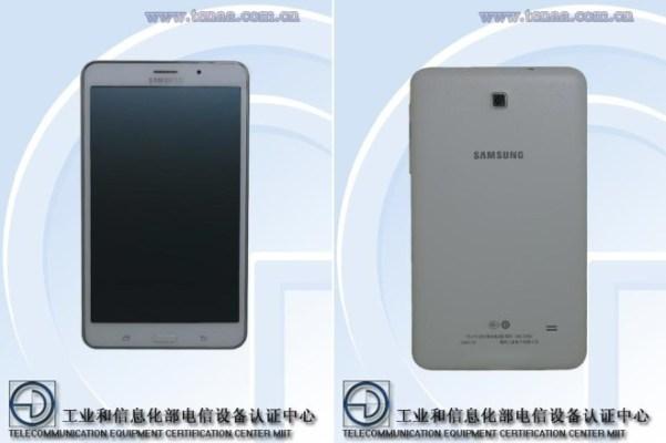 La web Tenaa Confirma Las Specs De Samsung Galaxy Tab 4 7.0
