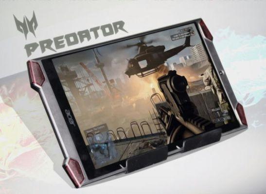 La tableta Acer Predator 8 entra en producción