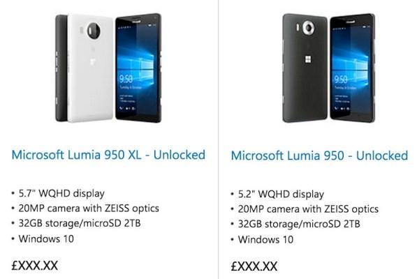 Microsoft filtra por error sus nuevos teléfonos Lumia con Windows 10