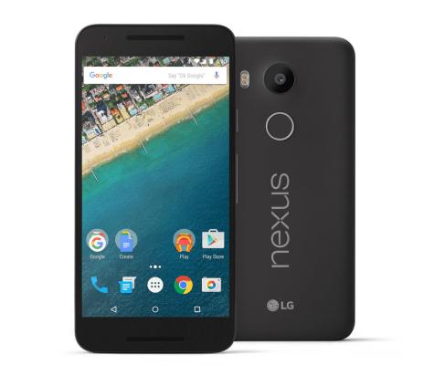 Google anuncia el Nexus 5X con Android Marshmallow