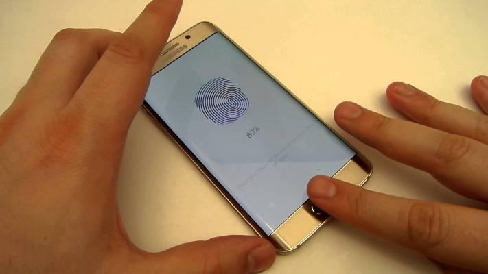 Cómo configurar escáner de huellas digitales en dispositivos  Samsung