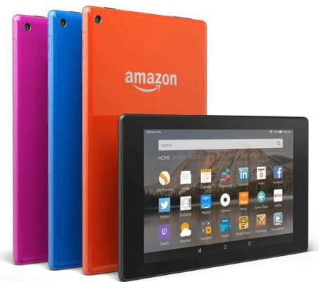 Amazon lanza tableta Fire de $49.99 dólares