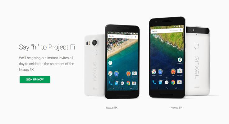 Google está dando invitación  instantánea al Proyecto Fi por 24 Horas