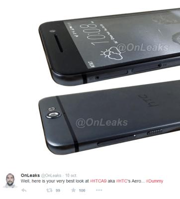 Filtran el teléfono inteligente HTC Uno A9  (Fotos)