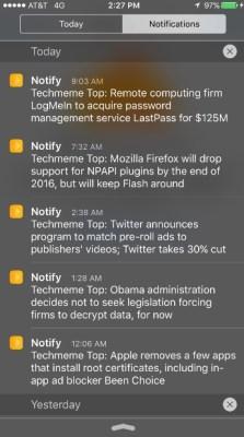 """Facebook lanzara su propia App de Notificaciones """"Notify"""""""