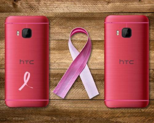 HTC lanza el teléfono inteligente uno M9 en EE.UU. rosado