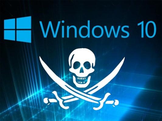Después de todo, Microsoft dará Windows 10 gratis a piratas