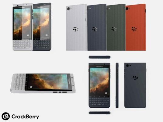 Primera vista del segundo teléfono Android BlackBerry Viena