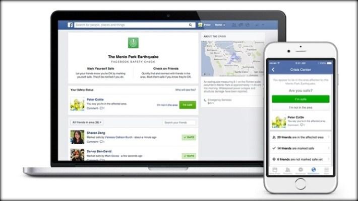 Facebook activara comprobación de seguridad para Desastres Humanos