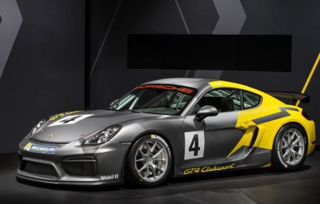 Conoce el Porsche Cayman GT4 Clubsport  (Video)