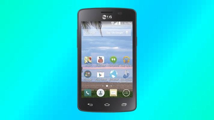 Wal-Mart vende el teléfono Lucky LG16 por 10 dólares