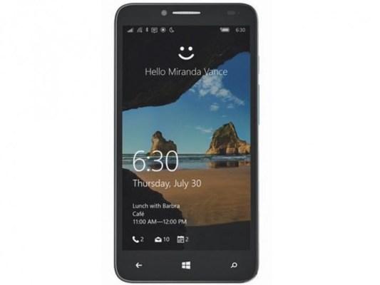 Alcatel One Touch XL Camino a T-Mobile con Windows 10