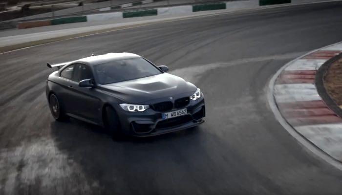 Este es el Nuevo BMW M4 GTS, míralo acción (Video)