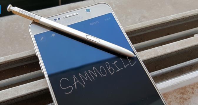 Cómo crear un memo en el Galaxy Note 5 aun con la pantalla apagada
