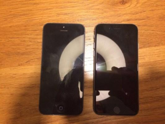 Primera imagen del supuesto iPhone 5se de 4 pulgadas