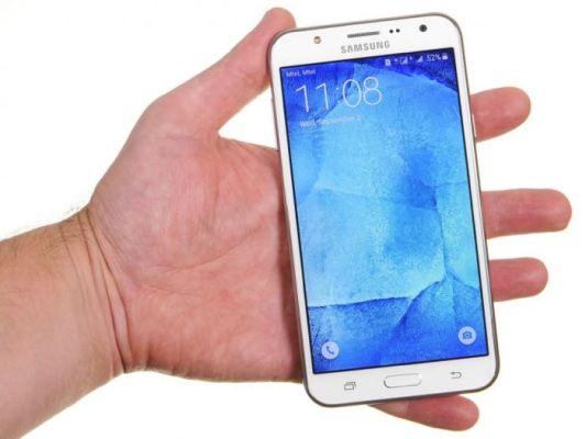 Filtran las especificaciones del teléfono Samsung Galaxy J7