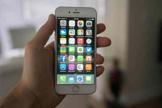 pantalla del IPhone 6S