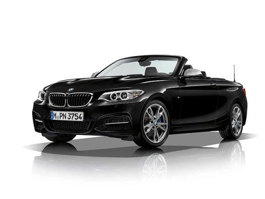 El auto BMW 2017 Serie 2 obtiene más potencia