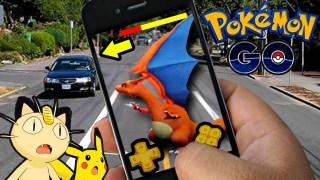 Adolescente es golpeada por un auto mientras juega Pokémon Go
