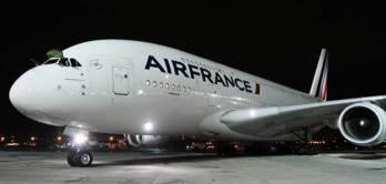 Primer vuelo comercial del A380 a Río de Janeiro