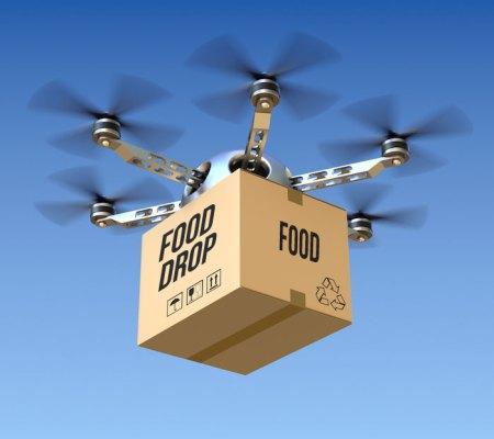 Google y Chipotle haciendo entregas de Burritos en Drones