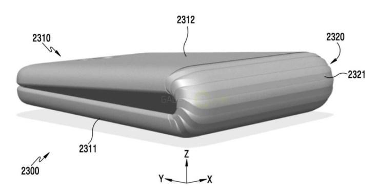 Mira el Samsung Galaxy X, el teléfono inteligente plegable (fotos)