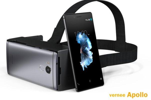 Vernee Apolo lanzará su primer VR en la plataforma MTK