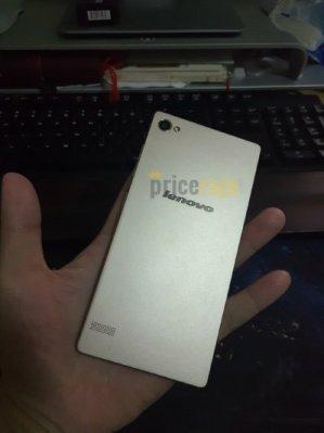 Este es el nuevo teléfono inteligente Lenovo (Fotos)