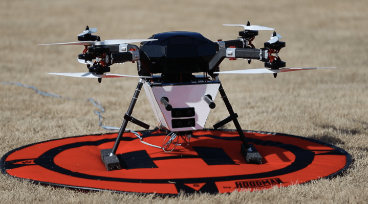 AT&T lanza primera prueba de vuelo de una torre celular a bordo de un dron