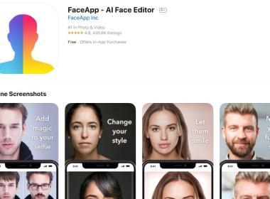 Privacidad de FaceApp