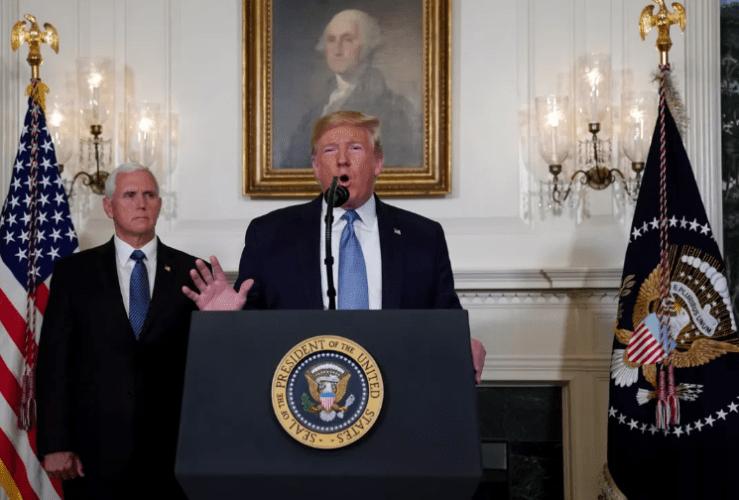 Donald Trump se dirigió al país el lunes 5 de agosto luego de dos tiroteos -redes
