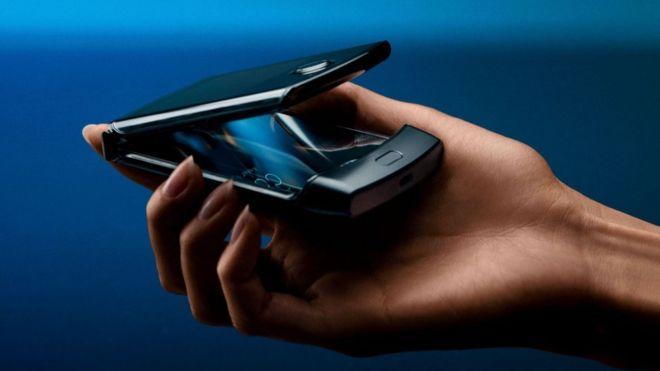 Motorola Razr, celular plegable