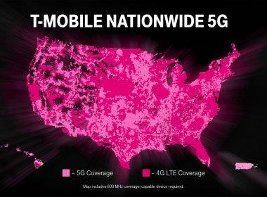 La red 5G de T-Mobile