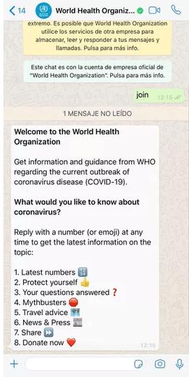 Coronavirus-OMS