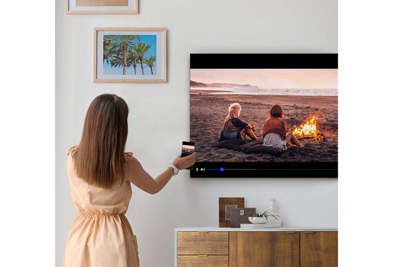 TV con Vista Móvil-remoto