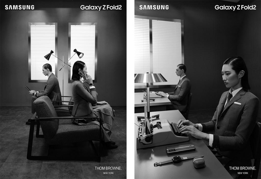teléfono plegable de Samsung-dos-pantallas