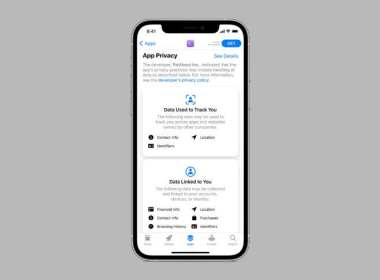 etiquetas de privacidad en la App Store