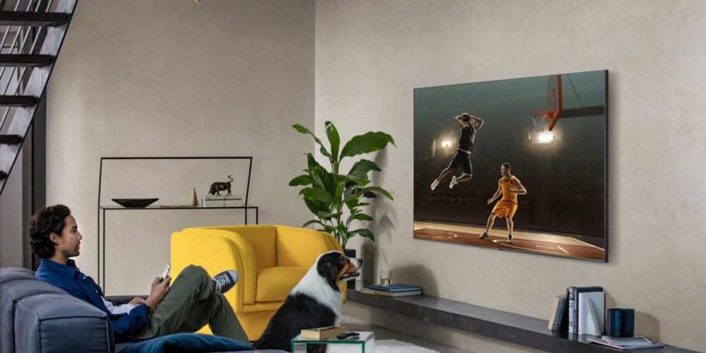 televisor Samsung QLED 8K-en=pared