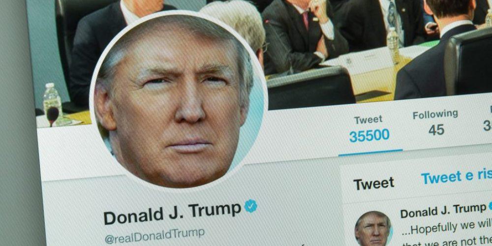cuenta de Donald Trump