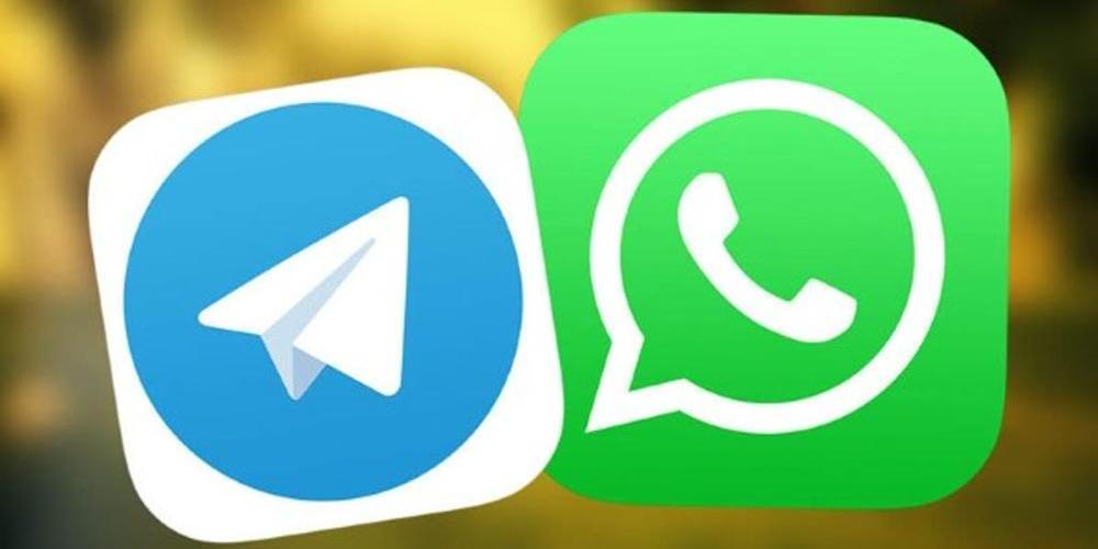 Telegram desde WhatsApp