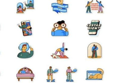 WhatsApp incorpora varios stikers