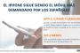 El iPhone sigue siendo el móvil más demandado por los españoles
